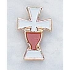 Pin, Cross & Chalice