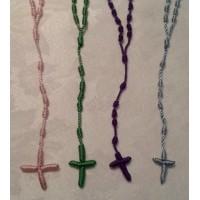Rosary, Macramé Cord Rosary