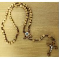 Rosary, Maria Regina wood rosary