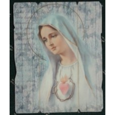 Picture, Sacred Heart of Mary