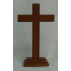 "Cross, Standing Wood 8"" Crosd"