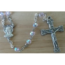 Rosary, Pink Beads,