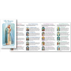 Rosary Folder for children with Luminous Mysteries