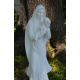 Statue, Blessed Mother Mary & Infant Jesus Garden Statue